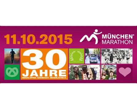 30. München Marathon. Wir laufen für die Kinder!!!