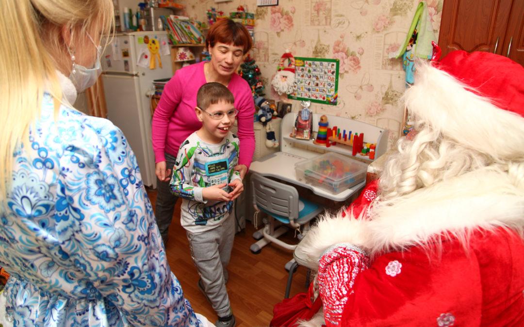Weihnachtsgeschenke für Kinder mit Behinderung in Sankt-Petersburg – Fortuna